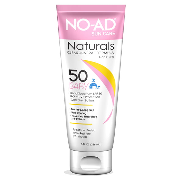 LAST CHANCE - NO AD NATURAL BABY LOTION SPF 50 - 3oz