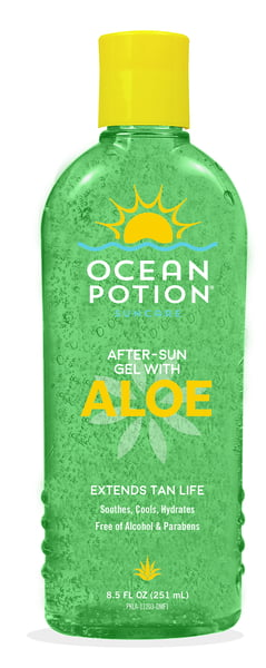 OCEAN POTION ALOE GEL - Green - 8.5oz