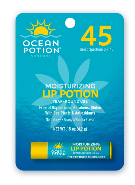 OCEAN POTION LIP POTION SPF 45 - Blister - 0.15oz