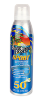 CARIBBEAN BREEZE SPORT SPRAY SPF 50 - SPORT - 5.5 Net Wt.