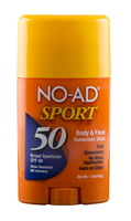 NO-AD SPORT STICK SPF 50 (TRAY) - 1.5oz