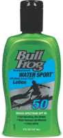 LABOR DAY SPECIAL - BULL FROG H20 SPORT LOTION SPF 50 - 5oz